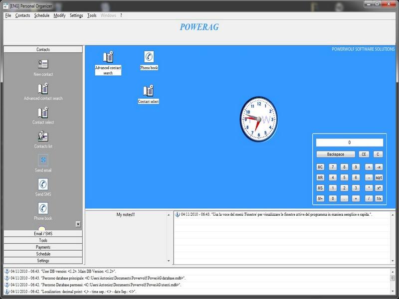 PowerPN Gestione prima nota e bilancio Screen shot